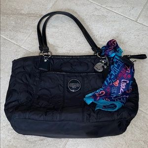 Coach quilted Signature Purse